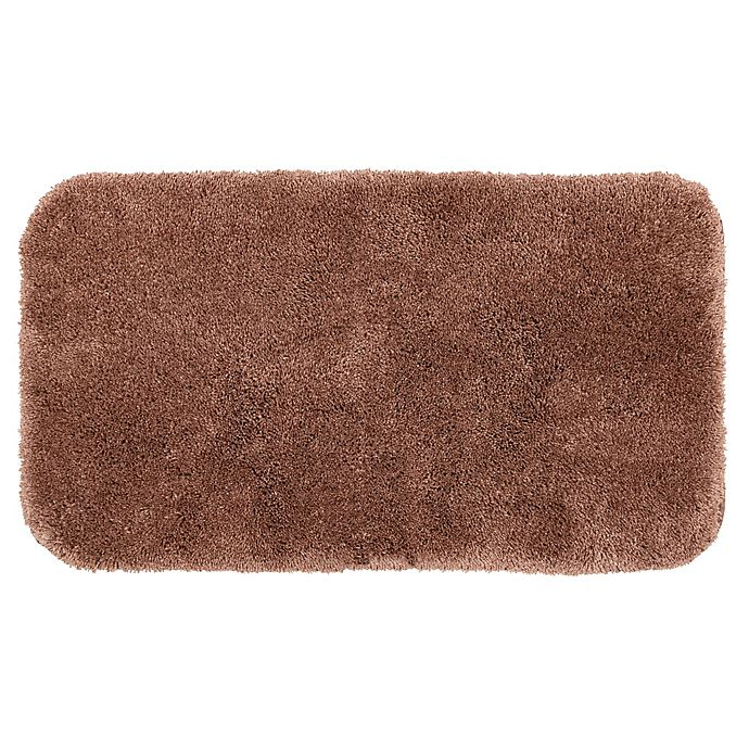 Alternate image 1 for Nestwell™ Recycled Polyester Bath Rug Collection in Shadow Grey