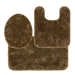 Nestwell™ Recycled Bath Rugs in Brown (Set of 3)