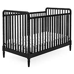 Delta Children Saint 4-in-1 Convertible Crib in Black