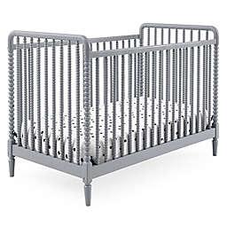 Delta Children Saint 4-in-1 Convertible Crib in Grey