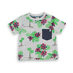 Sovereign Code® Size 18M Floral Palm Tree Shirt