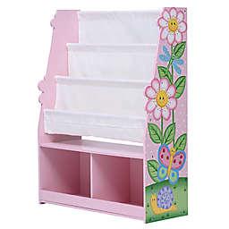 Fantasy Fields Magic Garden Bookshelf with Storage Drawer in Pink