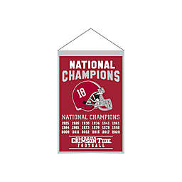 University of Alabama 2020 National Champions Banner