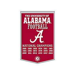 University of Alabama Football National Champions Dynasty Banner