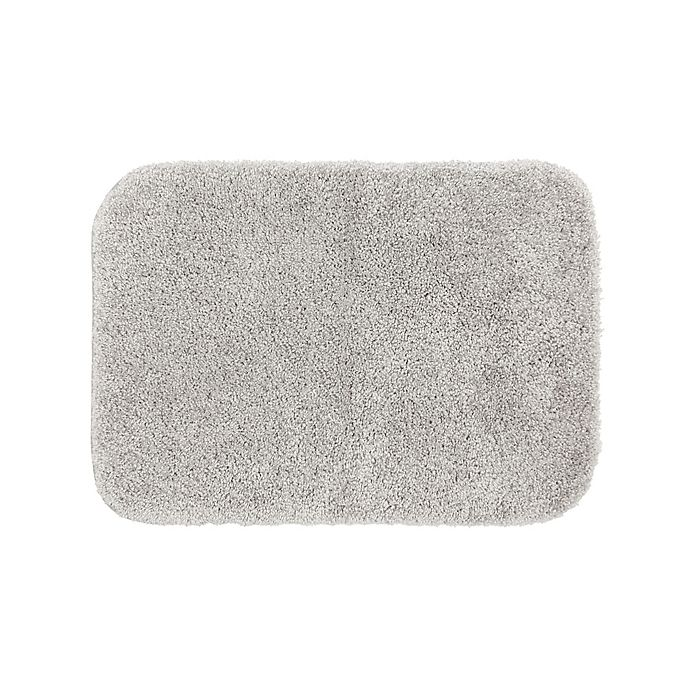 Alternate image 1 for Simply Essential™ Tufted 17'' x 24'' Bath Rug in Grey