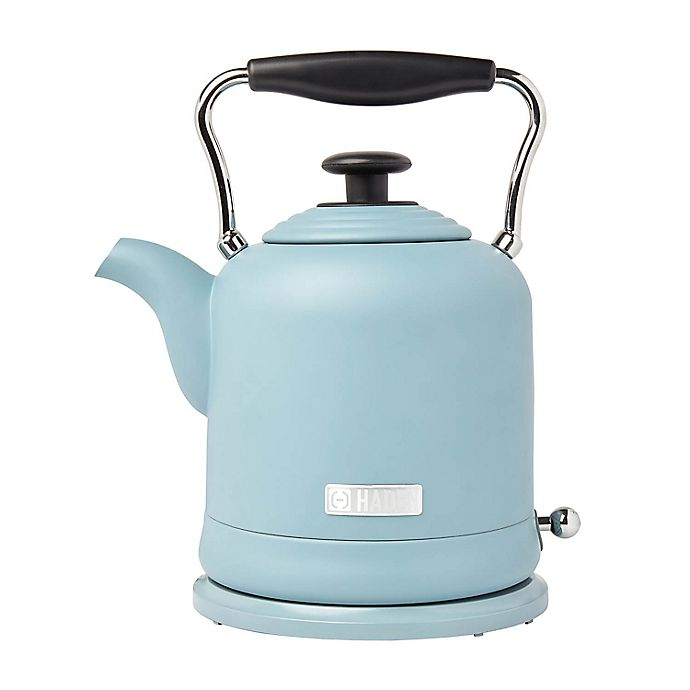 Alternate image 1 for Haden Highclere 6-Cup Cordless Electric Kettle in Pool Blue