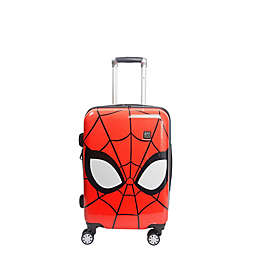 ful® Marvel® Spiderman Big Face 21-inch Hard Side Carry On Spinner Luggage