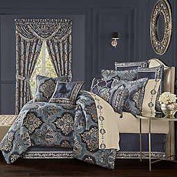 J. Queen New York™ Middlebury 4-Piece Queen Comforter Set in Indigo