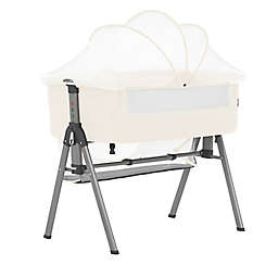 Lotus Bassinet & Bedside Sleeper in Ivory