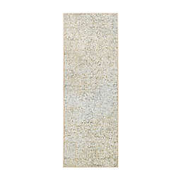 My Magic Carpet Sotho 2'6 x 7' Washable Runner in Beige