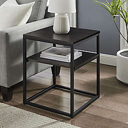 Simply Essential™ Metal End Table in Black