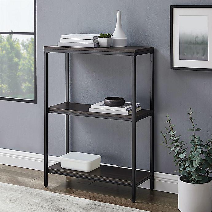 Alternate image 1 for Simply Essential™ 3-Shelf Metal Bookcase