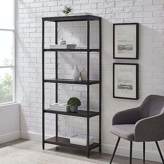 Alternate image 1 for Simply Essential™ 5-Shelf Metal Bookcase