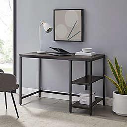Simply Essential™ Standard Metal Desk in White