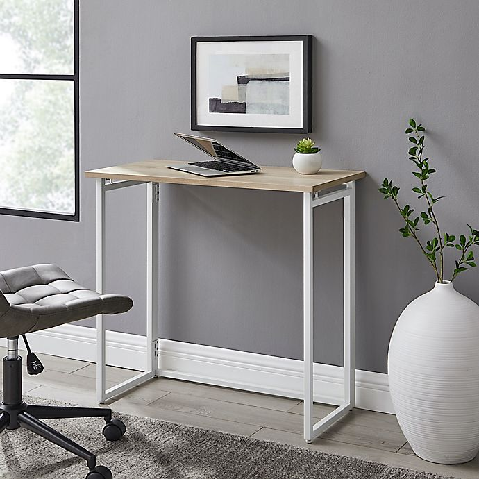 Alternate image 1 for Simply Essential™ Metal Folding Desk