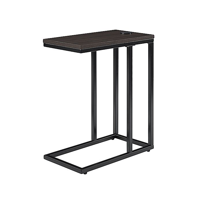 Alternate image 1 for Simply Essential™ C-Shape Metal Accent Table