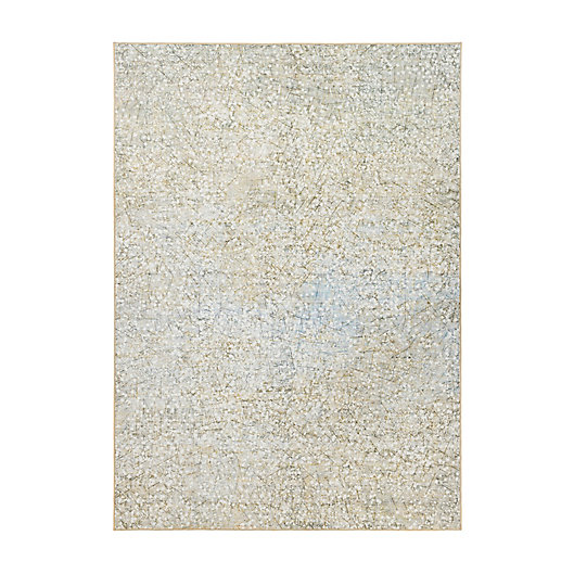 Alternate image 1 for My Magic Carpet Sotho 5' x 7' Washable Area Rug in Beige