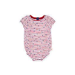 Burt's Bees Baby® Stars N' Stripes Organic Cotton Romper in Red/Blue