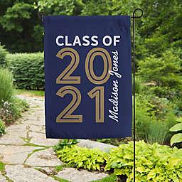 """Graduating """"Class of"""" Garden Flag"""