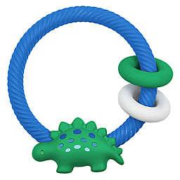 Itzy Ritzy® Dino Ritzy Rattle™ Teether in Green