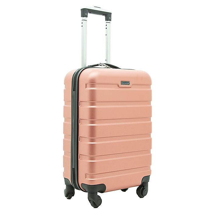 Alternate image 1 for Traveler's Club® Luggage 20-Inch Hardside Spinner Carry On Suitcase