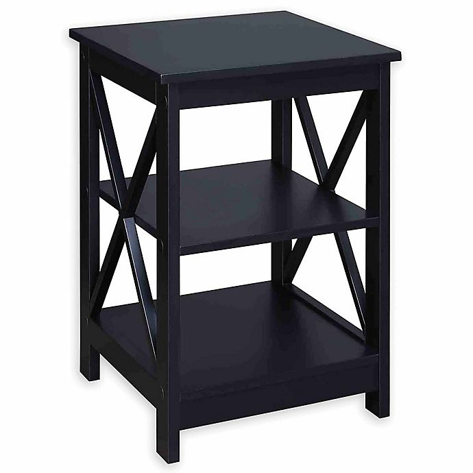Alternate image 1 for Convenience Concepts 2-Shelf Oxford End Table