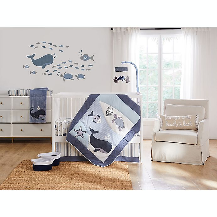 Alternate image 1 for Levtex Baby® Boho Bay 5-Piece Crib Bedding Set in Blue