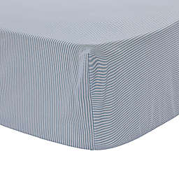 Levtex Baby® Boho Bay Stripe Fitted Crib Sheet in Blue