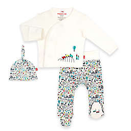 Magnetic Me® by Magnificent Baby Fun Fair Pant Set in White/Multi