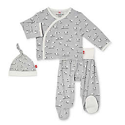 Magnetic Me® by Magnificent Baby Size 0-3M Baa Baa Baby 3-Piece Pant Set in Grey