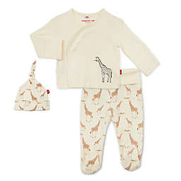 Magnetic Me® by Magnificent Baby Jolie Giraffe Pant Set in Cream