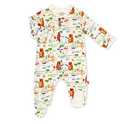 Magnetic Me® by Magnificent Baby Newborn Bear B Que Magnetic Footie