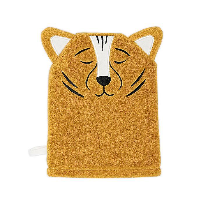 Alternate image 1 for Marmalade™ Kids Tiger Wash Mitt