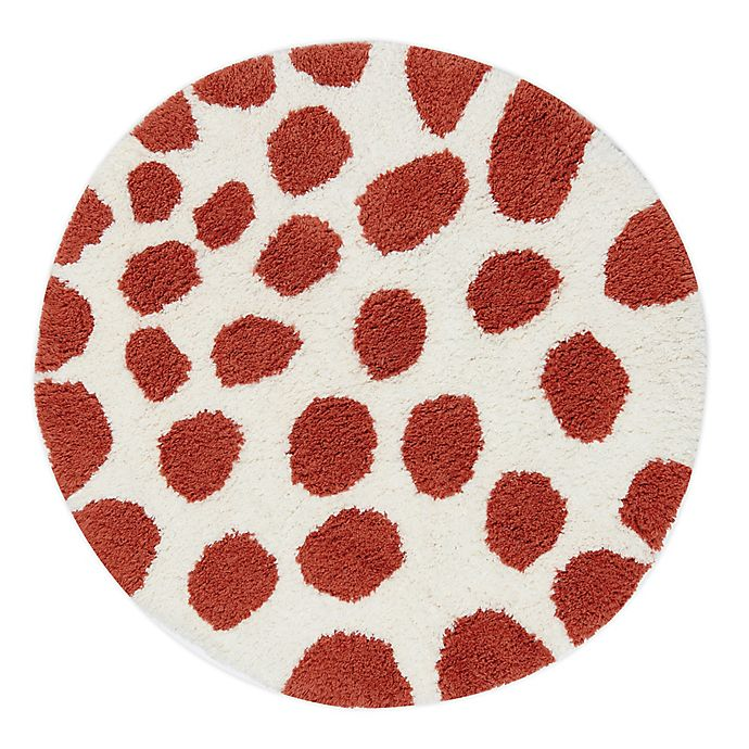 Alternate image 1 for Marmalade™ Cotton Bath Rug in Giraffe Print