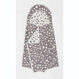 Marmalade™ Cotton Hooded Bath Towel in White Dots