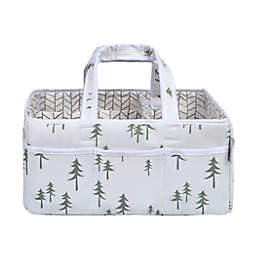 Trend Lab® Mountain Baby Storage Caddy in Green/Grey