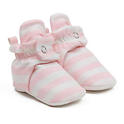 Ro+Me by Robeez® Size 6-12M Stripes Slipper in Ivory/Blush