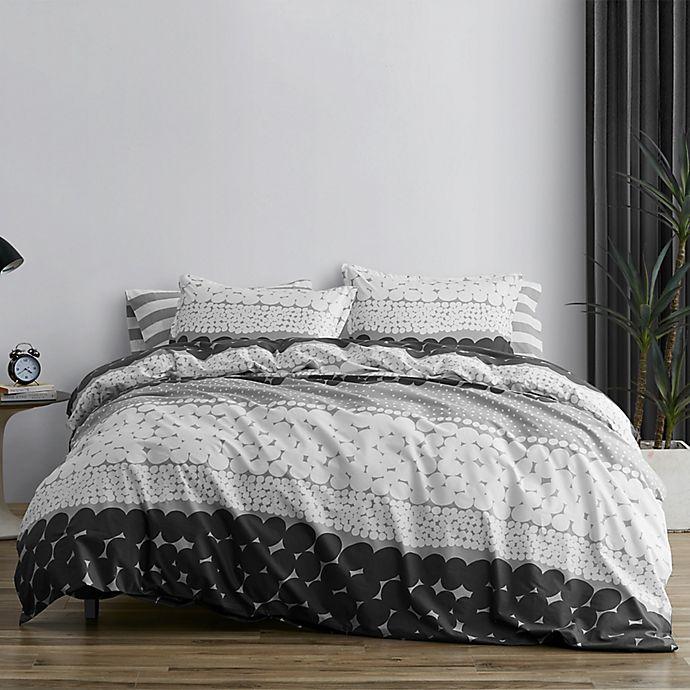 Alternate image 1 for marimekko® Jurmo Duvet Cover Set in Grey