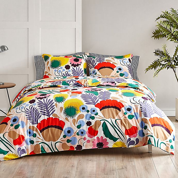 Marimekko Ojakellukka Comforter Set In Red Bed Bath Beyond