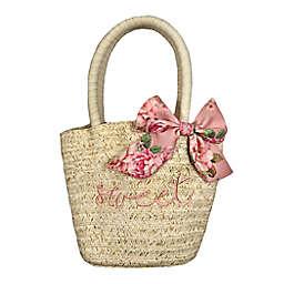 Toby Fairy™ Sweet Straw Handbag in Desert Rose