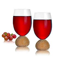 Qualia Bling Wine Glasses (Set of 2)