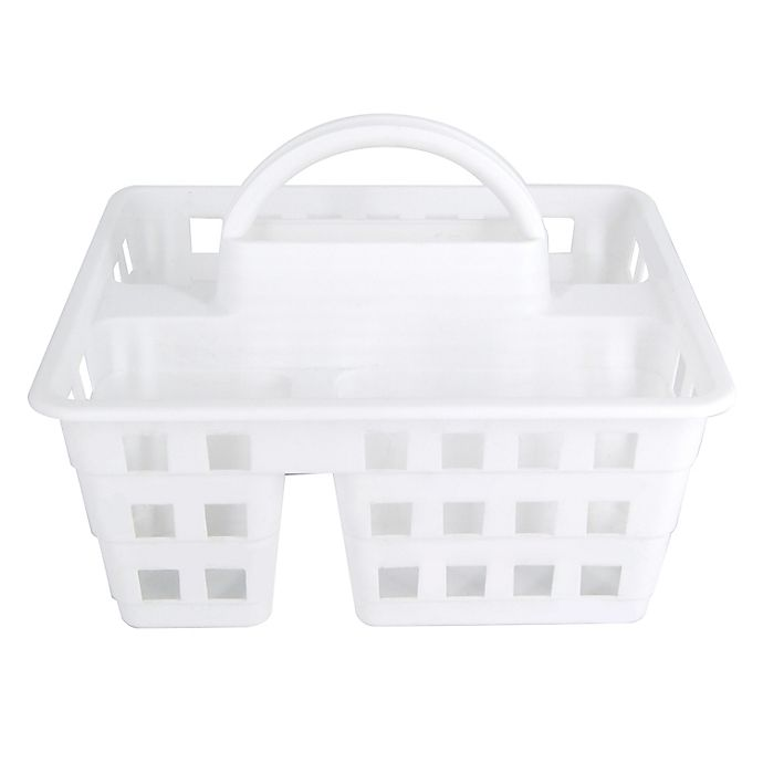 Alternate image 1 for Simply Essential™ Plastic Shower Tote