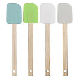 Simply Essential™ 4-Piece Multicolor Silicone Spatulas Set