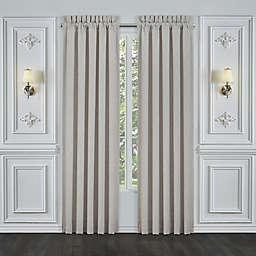 J. Queen New York™ Aimee 2-Pack 84-Inch Rod Pocket Window Curtain Panels in Beige