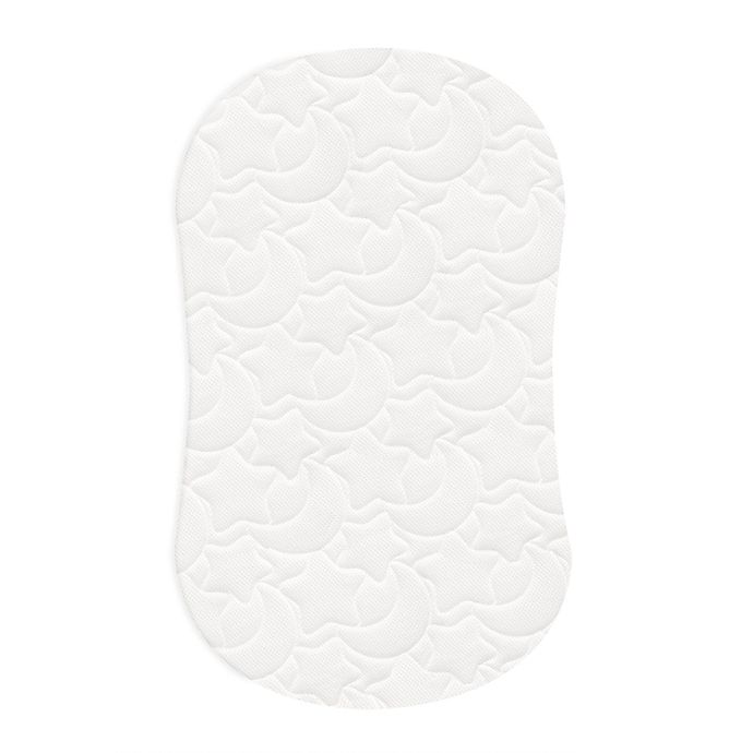 Alternate image 1 for HALO® DreamWeave™ Breathable BassiNest® Replacement Pad in White
