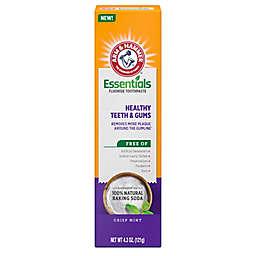 Arm & Hammer® Essentials 4.3 oz. Healthy Teeth & Gums Fluoride Toothpaste