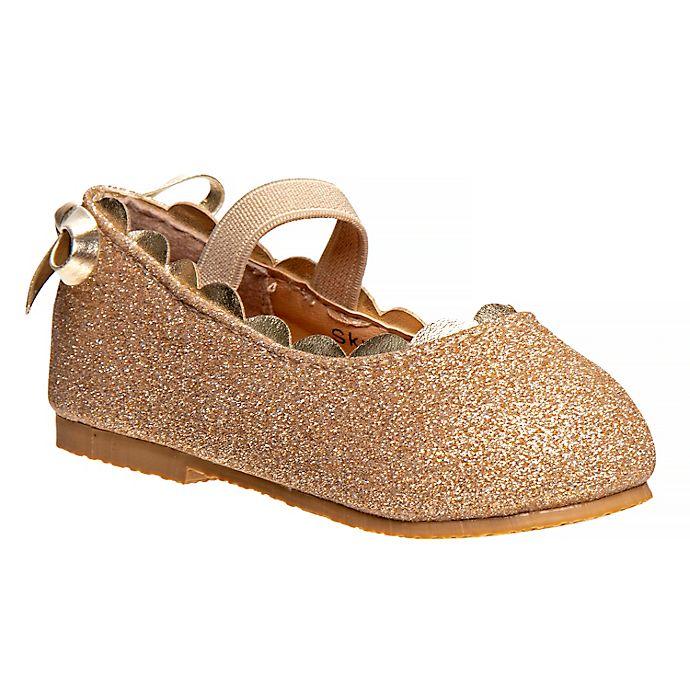 Alternate image 1 for Laura Ashley® Ballerina Dress Shoe