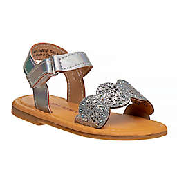 Laura Ashley® Sparkle Band Sandal in Silver