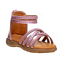 Laura Ashley® Strappy Gladiator Sandal in Pink