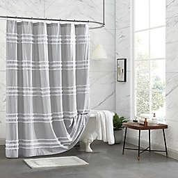 DKNY Chenille Stripe Shower Curtain